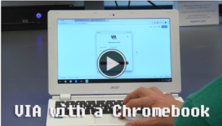 How to use a Chromebook video link