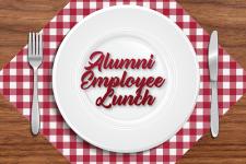 Alumni employee lunch
