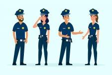 4 cops