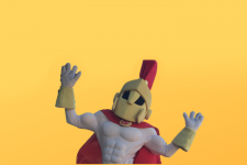 Titus, the mascot