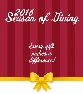 2016 Season of Giving