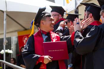 Graduates at 2016 Commencement