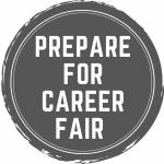 prepare for career fair
