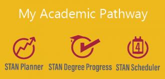 My Academic Pathway, STAN Planner, STAN Degree Progress, STAN Scheduler