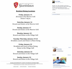 Brand in action, Digital Letterhead Posted on Facebook