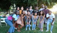 Black Student Union group photo