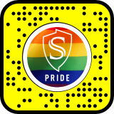 Snap code. Pride. Stanislaus State. Shield.