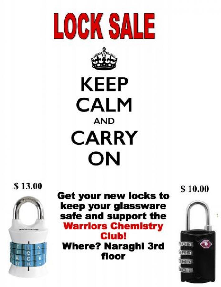 Lock sale