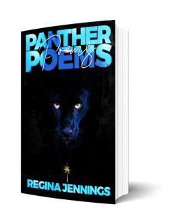 Panther Poems by Regina Jennings book cover