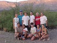 Earthwatch Crew group photo