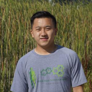 This is a photo of our Peer Health Educator, Tou Vang
