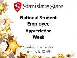 National Student Employee Appreciation Week