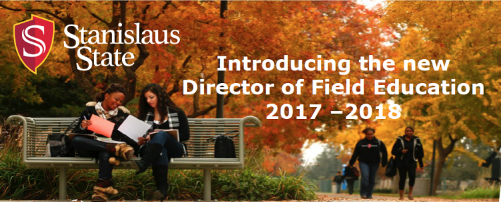 Introducing the new Director of Field Education 2017 – 2018