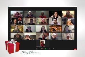 MSW Students on Zoom