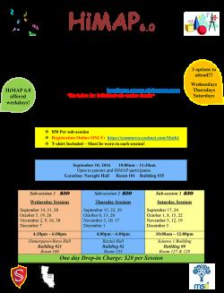 HiMAP flyer