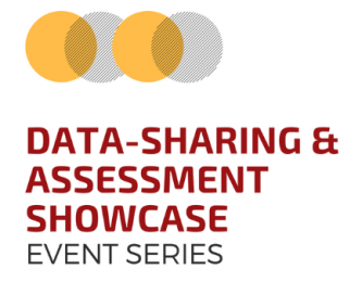 graphic with cover from data-sharing & Assessment showcase