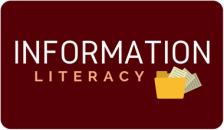 information literacy button