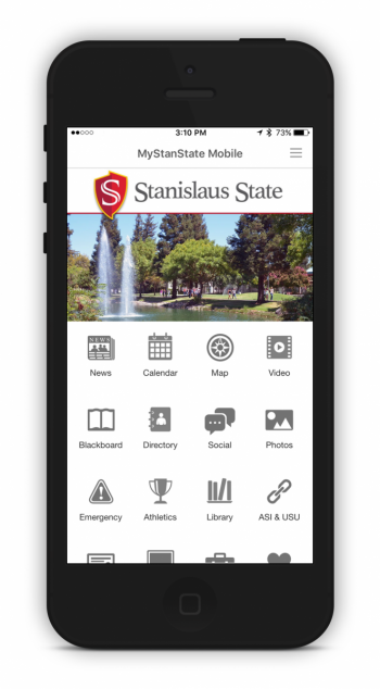 Apple iPhone Stanislaus State Mobile Application