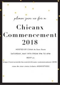 Chicanx commencement 2018