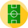 Sports field icon