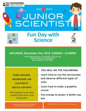 Junior Scientist flyer