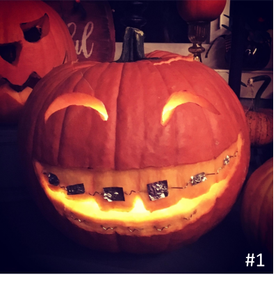 Rebecca Stephens – Smiling Pumpkin with Braces
