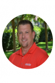 Headshot of Aaron Allaire. Senior Associate Athletics Director.