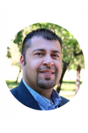 Headshot of Executive Director for Associated Students, Incorporated & University Student Center. Cesar Rumayor.