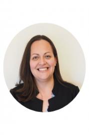 Headshot of Associate Director of Career & Professional Development Center. Evelyn Ramos.