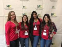 Panhellenic members at the Panhellenic Academy in January 2017
