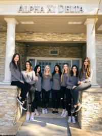 Members of Alpha Xi Delta