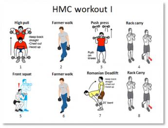 HMC workout I