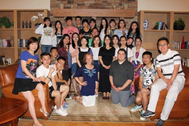 Hubei, China Students at Stanislaus State