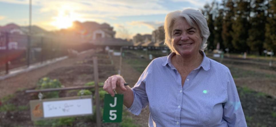 Julia Sankey, Turlock Community Gardens