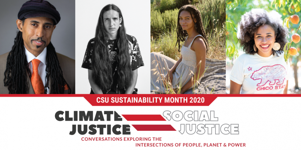Featured speakers for an event on climate and social justice