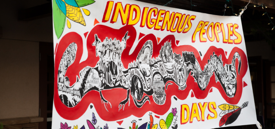 Indigenous Peoples Day Banner