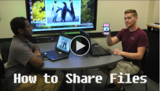 How to Share files video link