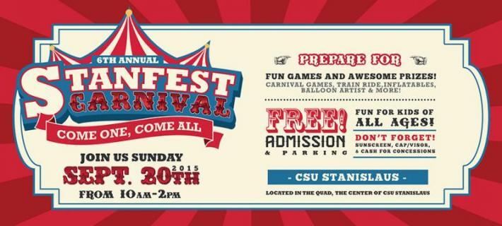 Stanfest Carnival Flyer