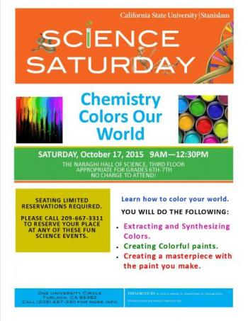 Chemistry Colors Our World