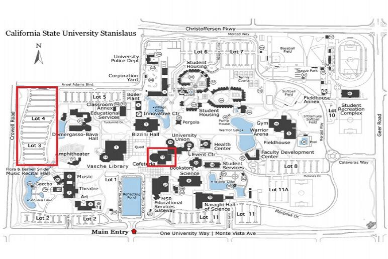 NSO Parking Map