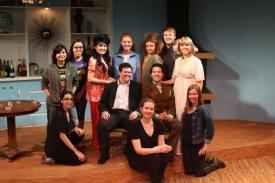 cast group photo