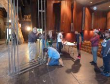 team at work on state props