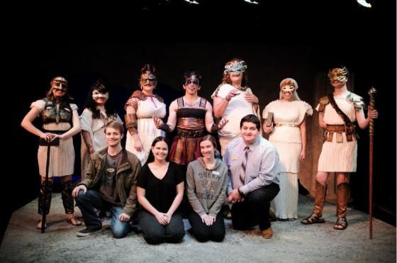 Prometheus Bound Cast & Crew