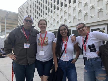 Nicole Guiterrez, Anthony Ortiz, Jackie Cervantez