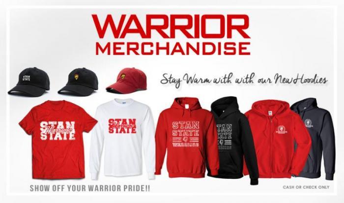 warrior merchandise