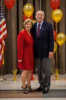 President Sheley and Filomena Wojciechowski