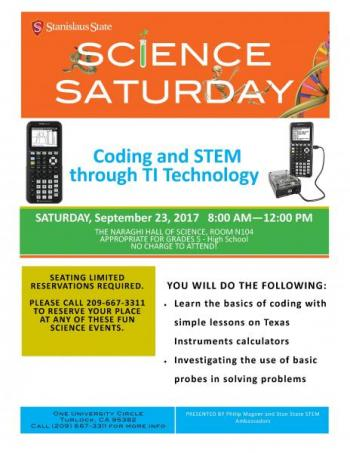 coding and stem through TI technology
