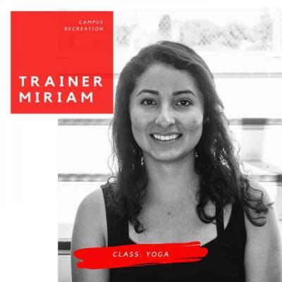 Trainer Miriam