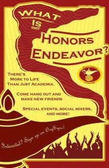 what is honors endeavor