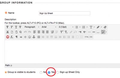 sign up sheet california state university stanislaus